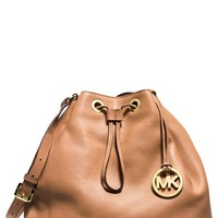 Women's MICHAEL Michael Kors 'Large Jules' Drawstring Shoulder Bag