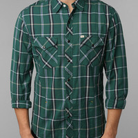Urban Outfitters - Salt Valley Tufts Plaid Western Shirt
