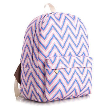 Korean Cute Canvas Lovely Backpack = 4888034628