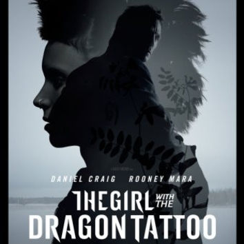 Girl With The Dragon Tattoo Movie mini poster 11x17 #04