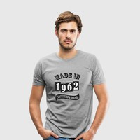 MADE IN 1962 SPECIAL T-SHIRT by IM DESIGN CREATIVE | Spreadshirt