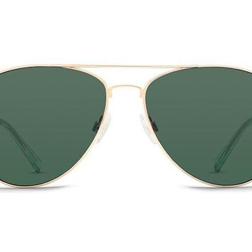 VonZipper - Farva Gold Sunglasses / Vintage Grey Lenses