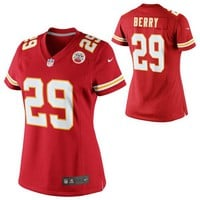 Women's Kansas City Chiefs Eric Berry Nike Red Limited Jersey