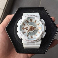 G-Shock-lov-15A-7AJR White / Gold