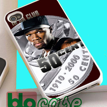 50 Cent In Da Club For Iphone 4/4s, iPhone 5/5s, iPhone 5C, iphone 6, and iPhone 6 Plus Case
