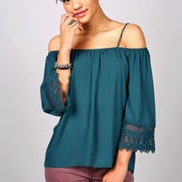 Crochet Bounds Blouse | Trendy Clothes at Pink Ice