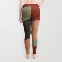 Vintage Patchwork Leggings by DuckyB (Brandi)