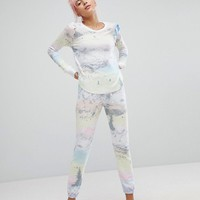 Wildfox Ski Slopes Lounge Jogger at asos.com