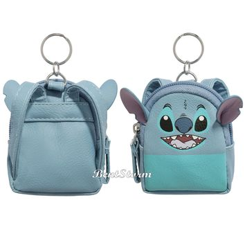 Licensed cool ONE Licensed Disney Lilo & Stitch Alien Face Mini Backpack Keychain Key Chain