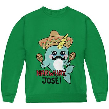 Narwhal Narwhay Jose Youth Sweatshirt