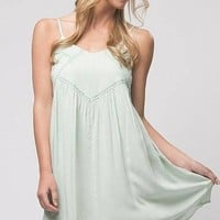 Marley Mint Swing Dress - !