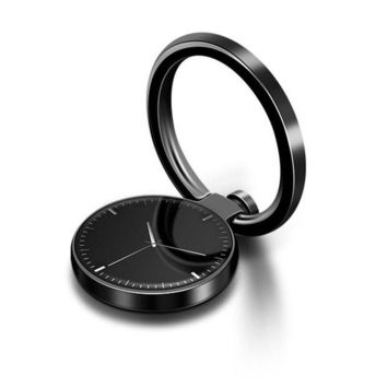 DCCKU7Q ZNNCO 360 Degree Metal Finger Ring Holder Watches and Clocks Luxury for iphone Pop Socket Grip Mount Cell Phone Stand