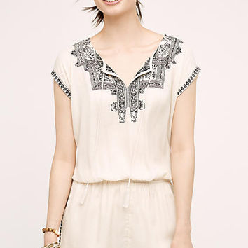 Mira Embroidered Romper