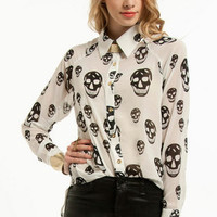 Head Butt Blouse $37