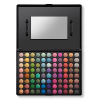 88 Color Shimmer Eyeshadow Palette: Metallic Makeup | BH Cosmetics!