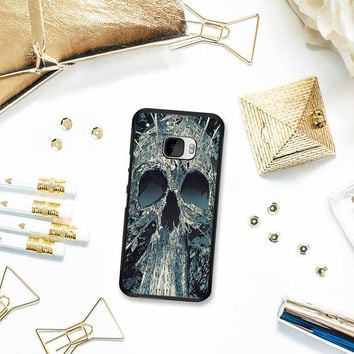 Abstract Skulls Artwork HTC One M10 Case Planetscase.com
