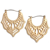 Wherever You Wander Gold Earrings