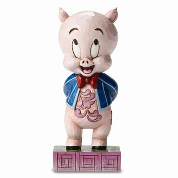 Jim Shore Looney Tunes Porky Pig Figurine
