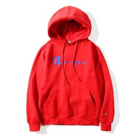 Champion Fashion Casual Top Sweater Pullover Hoodie