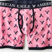 AEO Men's Eagle Athletic Trunk (Pink)