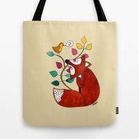 Singing along Tote Bag by Sylvie Demers