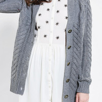 Urban Outfitters - Ash Rain + Oak Meadow Cable-Knit Cardigan