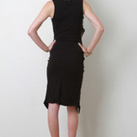 Zipper Neckline Dress