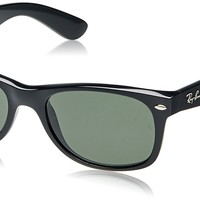 Ray-Ban New Wayfarer Sunglasses Black G-15-XLT New