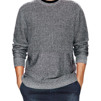 Zanerobe Men's Tribeca Crew Knit Sweater - Grey -