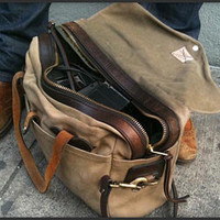 Filson Briefcase Computer Bag - The Awesomer