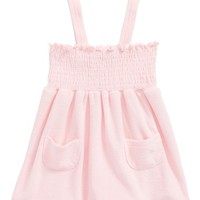 Sol Swim French Terry Cover-Up (Toddler Girls & Little Girls) | Nordstrom