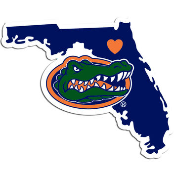 NCAA Florida Gators Home State Decal