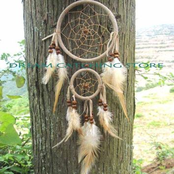 dream catcher double circle free shipping