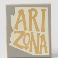 Arizona gold box sign