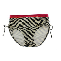 Fantasie Womens Mongeto Bay Contrast Trim Pattern Swim Bottom Separates