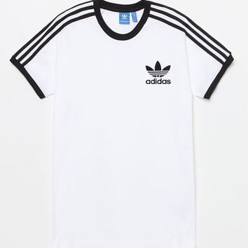 adidas California White and Black T-Shirt at PacSun.com