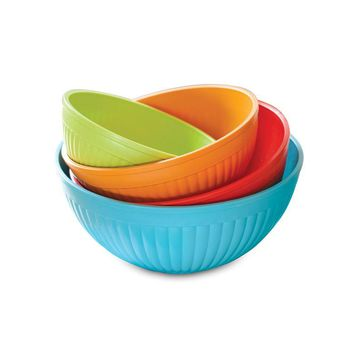 Nordic Ware 4 Piece Prep & Serve Bowl Set