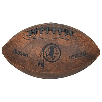 Washington Redskins Football Vintage Throwback - 9 Inches