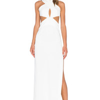 SOLACE London Mona Maxi Dress in White