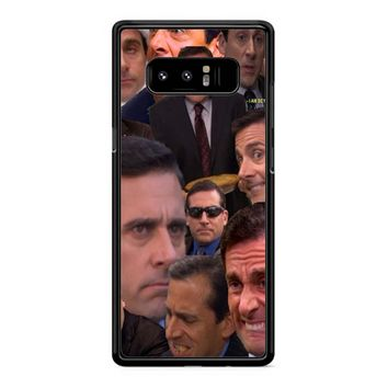 Michael Scott Collage 2 Samsung Galaxy Note 8 Case