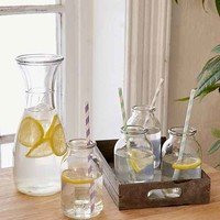 Milk Bottle Carafe Set