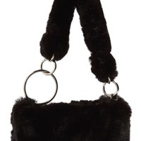 Topshop Teddy Faux Fur Shoulder Bag | Nordstrom