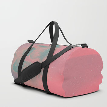 Close your Eyes Duffle Bag by DuckyB