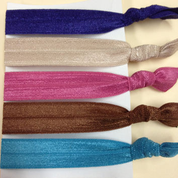 The Beautifully Bold Elastic Hair Ties (and bracelets) Collection