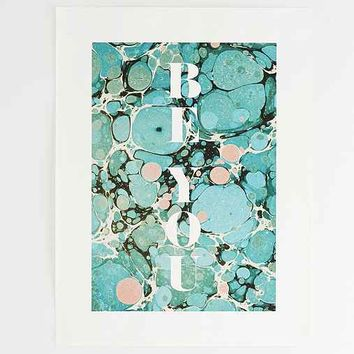 Assembly Home Be You Marble Art Print