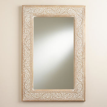 Carved Lydia Mirror - World Market