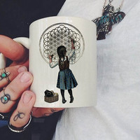 Bring Me The Horizon Logo Mug, Ceramic Mug, Coffee Mug, tea mug,