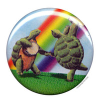 Grateful Dead - Rainbow Terrapins Button on Sale for $1.99 at HippieShop.com