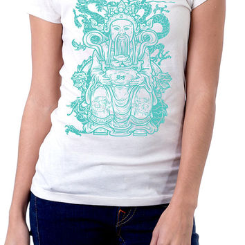 Women's Budda Graphic T-shirt | Sublimated shirts |  Hipster Shirts | Budda | Streetwear