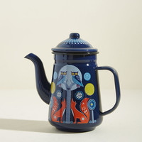 Woodland Whimsy Teapot in Midnight
